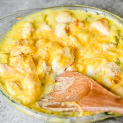 Chicken Cheese Hotdish