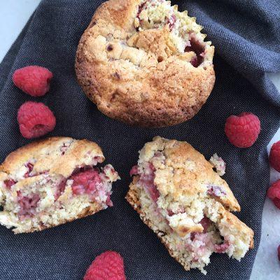 Raspberry Creamcheese Muffins