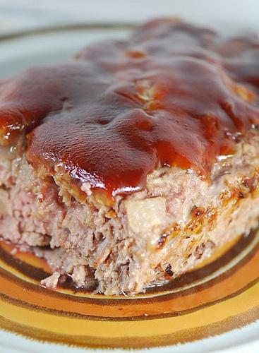 Biggest Loser BBQ Bacon Meatloaf