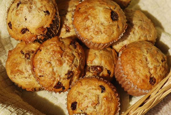 Photos and Bran Muffins