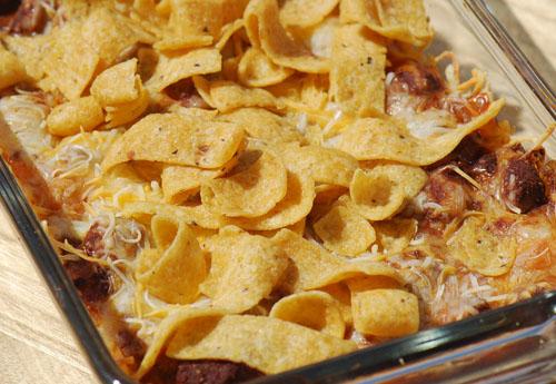 Chili Frito Pie Recipe