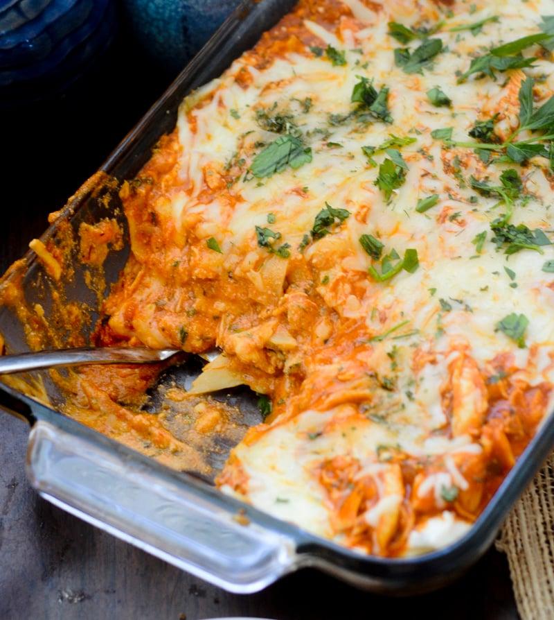 Weight Watchers Recipes Buffalo Chicken Lasagna Recipe