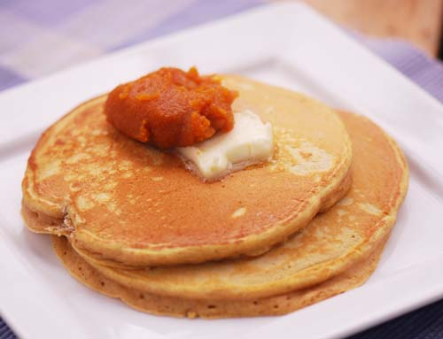 Pumpkin Spice Pancakes w/ Pumpkin Butter – Recipe Diaries