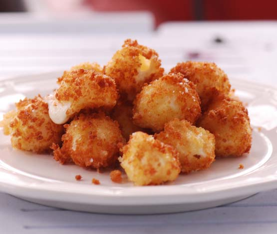 Fried Bocconcini Balls