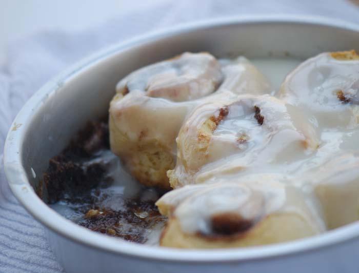 Alton Brown's Overnight Cinnamon Rolls