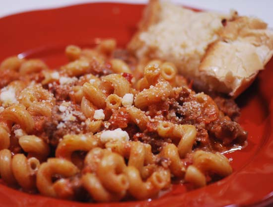 Weeknight Bolognese: Ina Garten