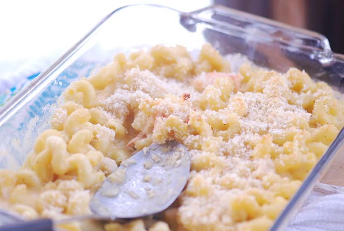 Ina Garten's Lobster Mac and Cheese