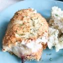 Air Fryer Chicken Cordon Bleu