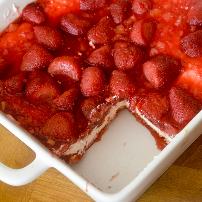 Strawberry Pretzel Salad – Recipe Diaries
