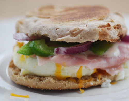 Southwest Egg White Sandwich