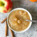 Sugar Free Applesauce | Slow Cooker or Instant Pot