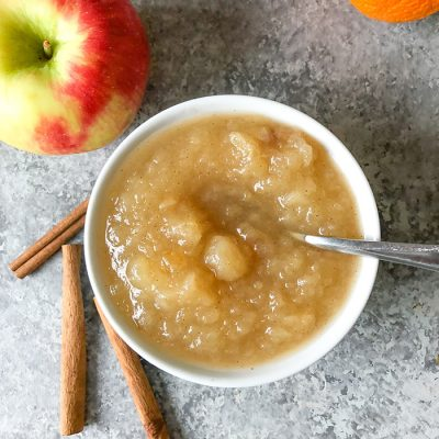 Sugar Free Applesauce | Slow Cooker or Instant Pot