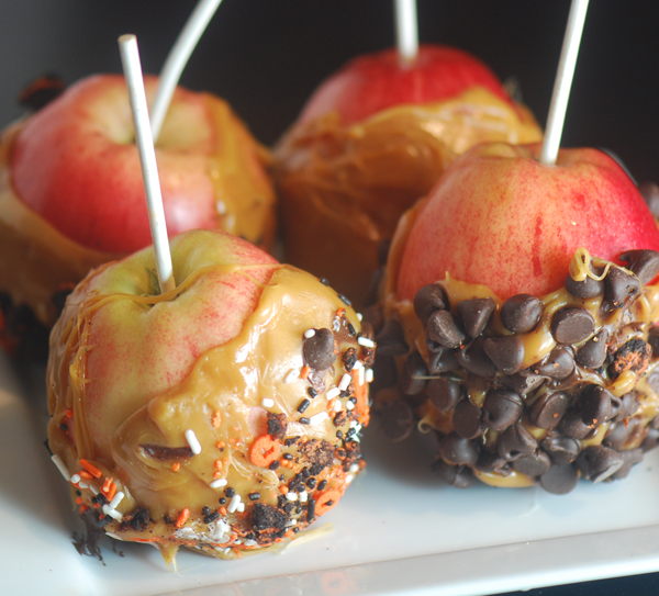 Crock Pot Caramel Apples