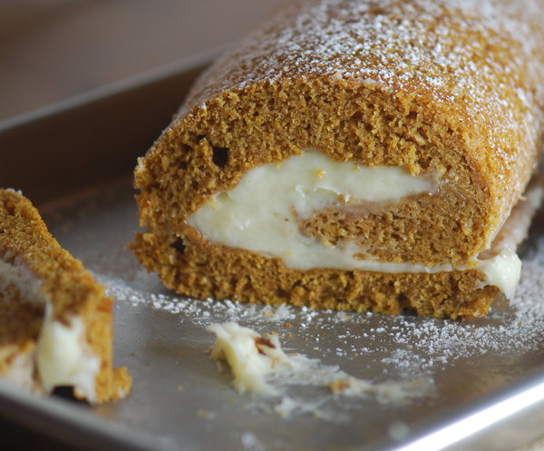Pumpkin Cake Roll – Recipe Diaries