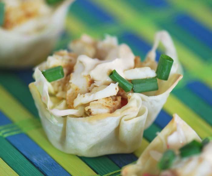 Fish Taco Cups