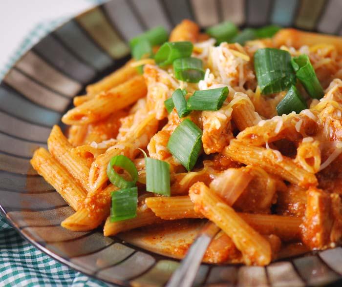 chicken enchilada pasta 009