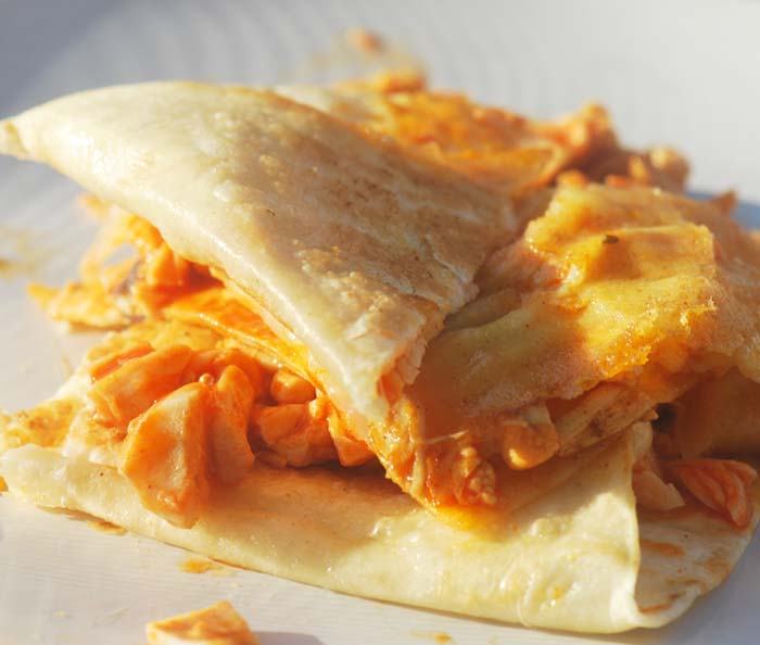 buffalo chicken quesadilla 1165