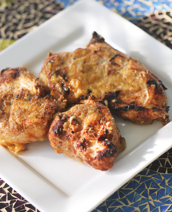 Grilled Red Chile Buttermilk Chicken