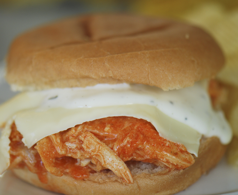 responses to slow cooker spicy buffalo chicken sandwiches slow cooker ...