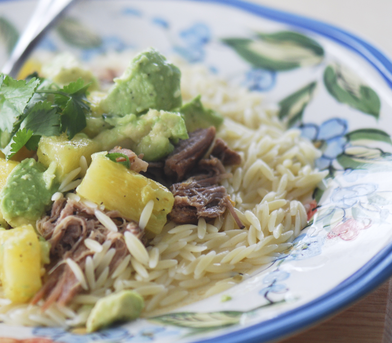 Weight Watchers – Slow Cooked Jerk Pork with Caribbean Salsa