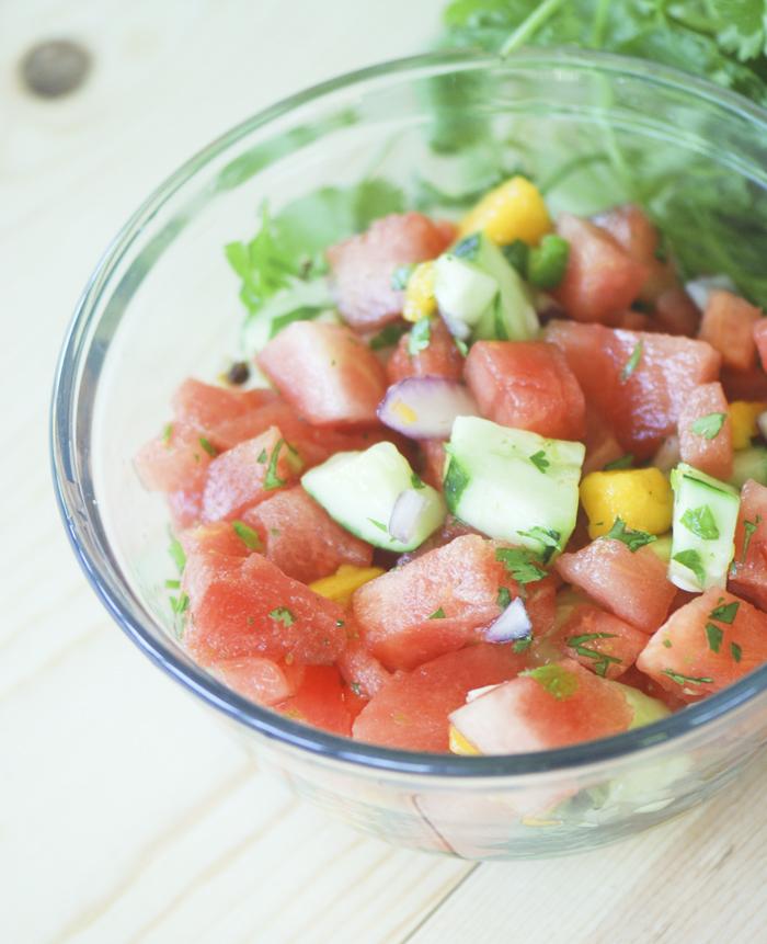 Trisha Yearwood's Watermelon Salsa