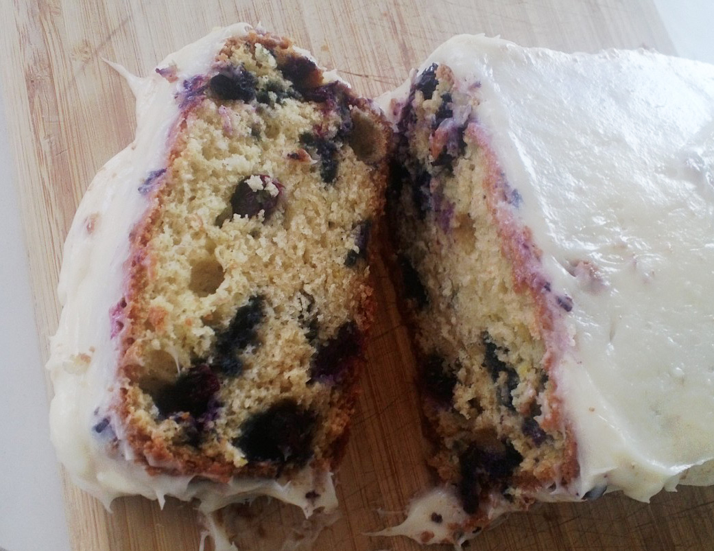 Blueberry Lime Poundcake Recipe — Dishmaps