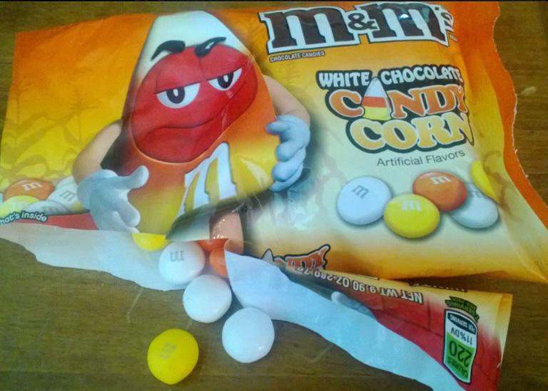 Candycorn M&M Blondies