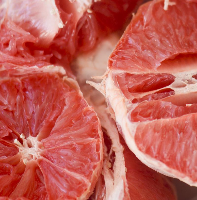 Homemade Grapefruit Slices