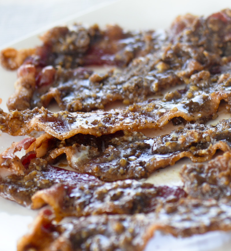 Caramelized Bacon Recipe — Dishmaps