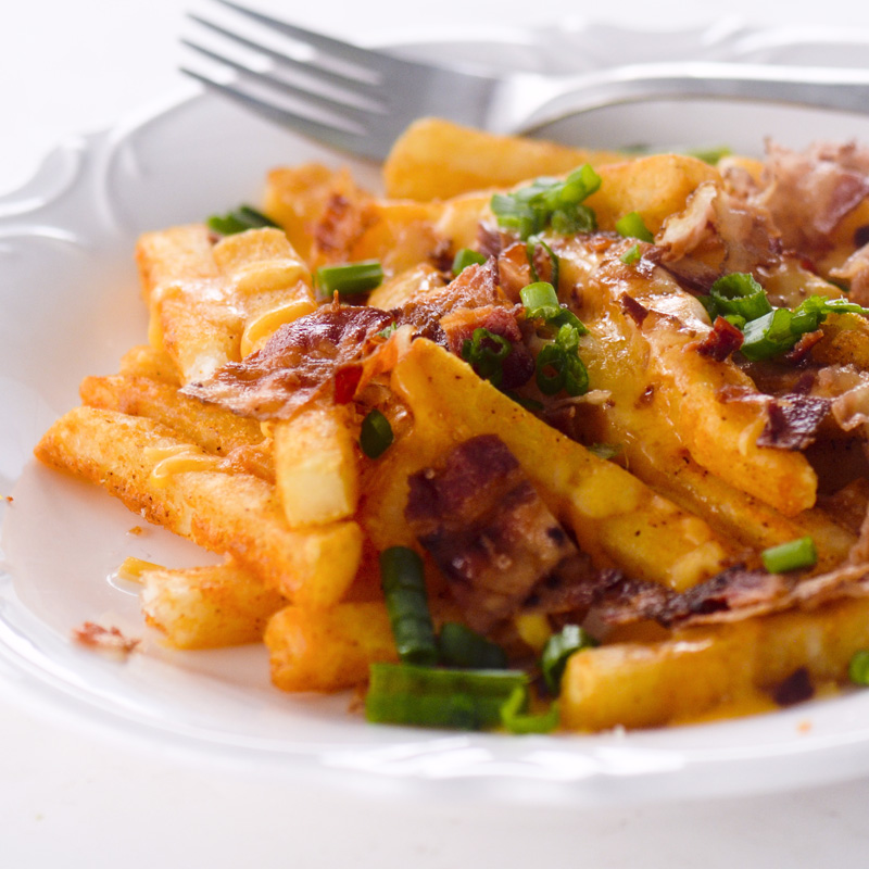 Air Fryer Loaded French Fries