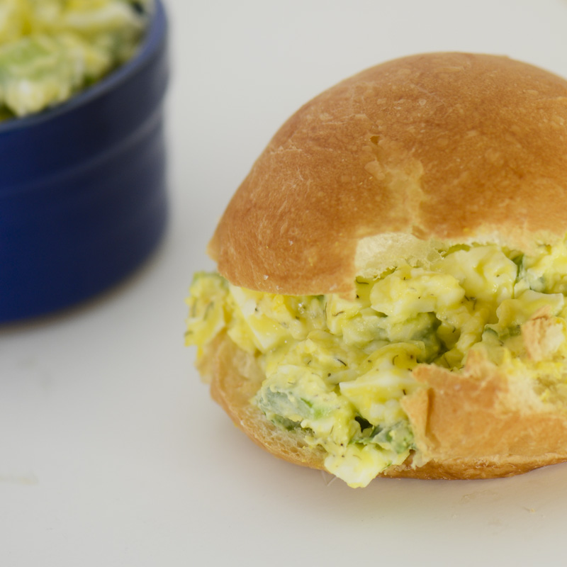 Healthier Egg Salad – Recipe Diaries