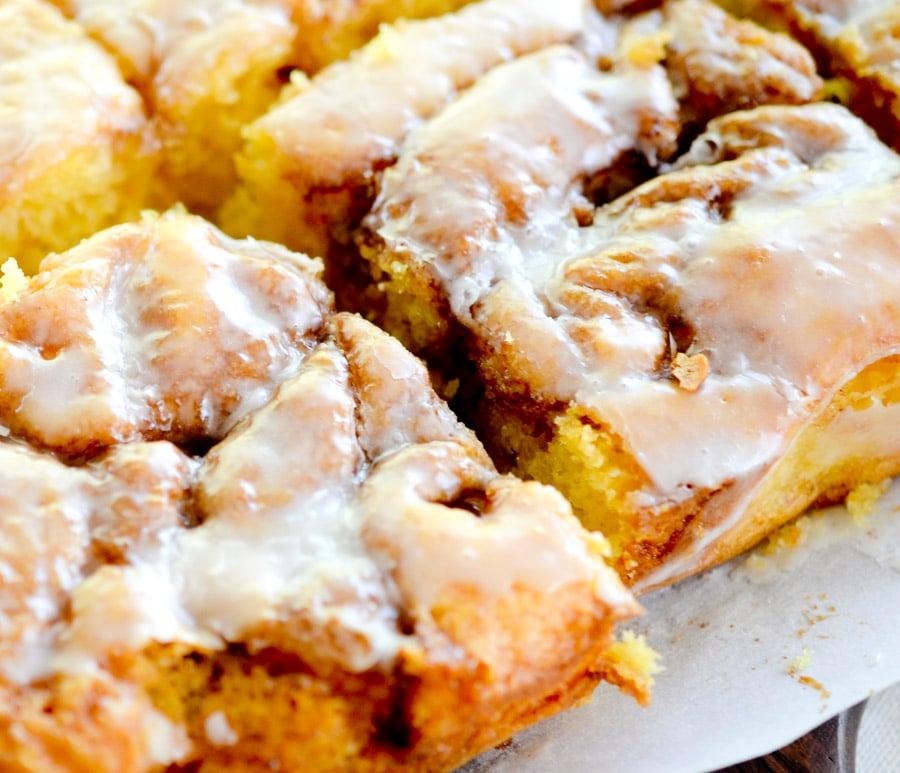 cinnamon roll cake recipe diaries