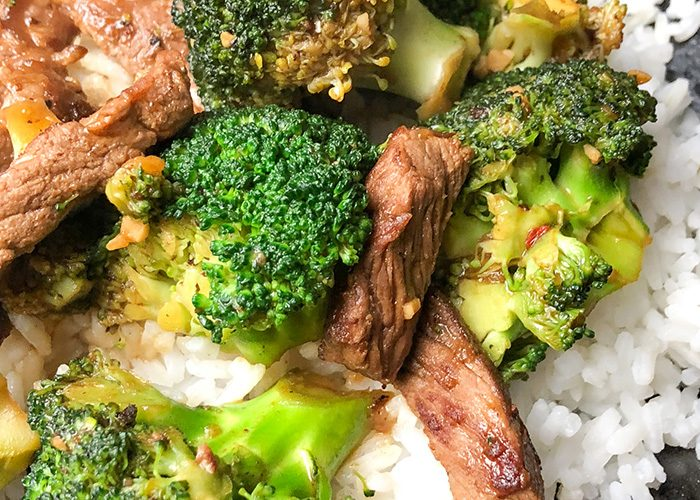 Weight Watchers Beef and Broccoli