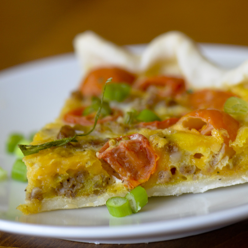 Trisha Yearwood's Country Quiche