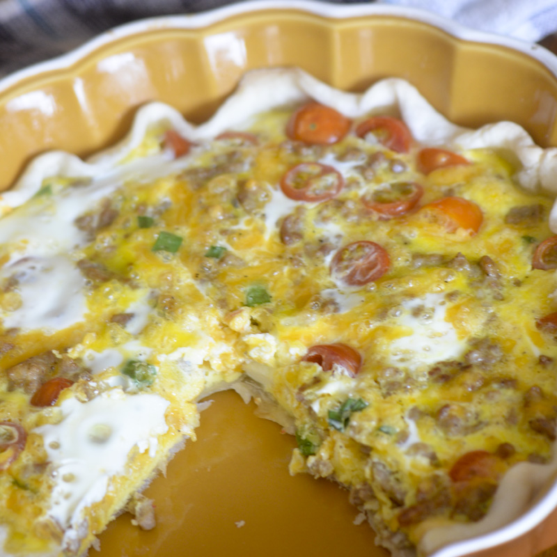 Trisha yearwoods country quiche recipe diaries trisha yearwoods country quiche forumfinder Gallery