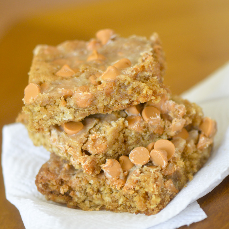 Trisha Yearwood's Butterscotch Peanut Butter Bars