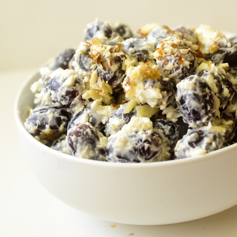 Creamy Grape Salad – Weight Watchers