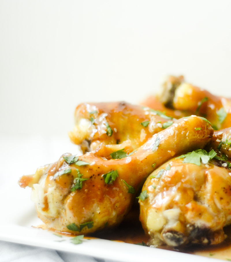 Baked Sriracha Honey Wings – Recipe Diaries