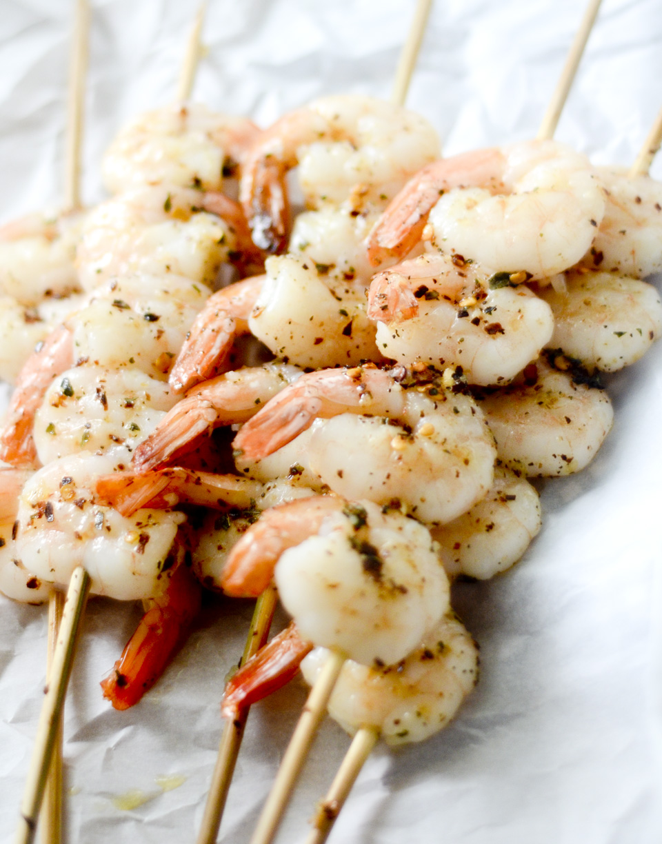 Grilled Shrimp Skewers – Bobby Flay