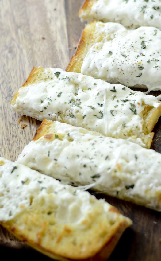 Cheesy Garlic Ciabatta Bread