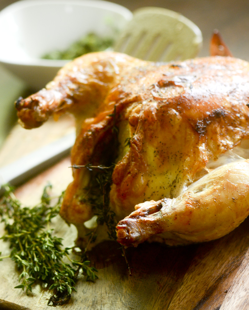 Ina Garten's Perfect Roast Chicken