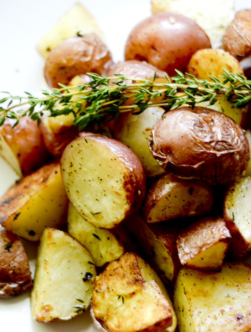 Ina Garten's Garlic Roasted Potatoes
