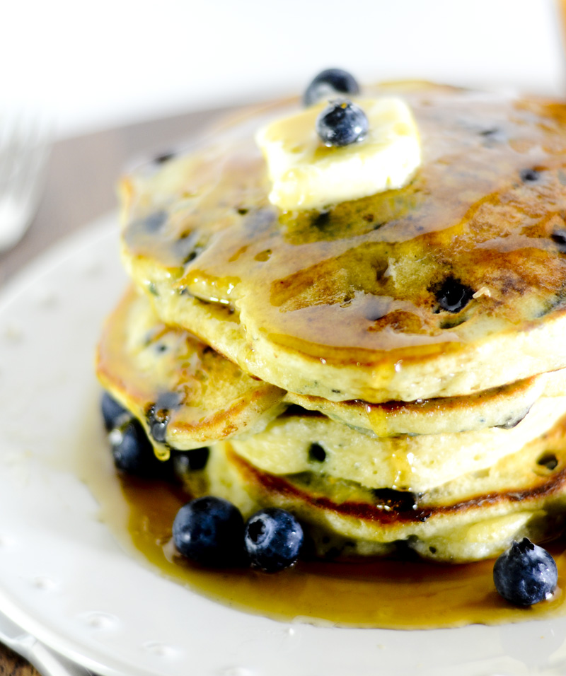 trisha yearwood lemon blueberry pancakes 015