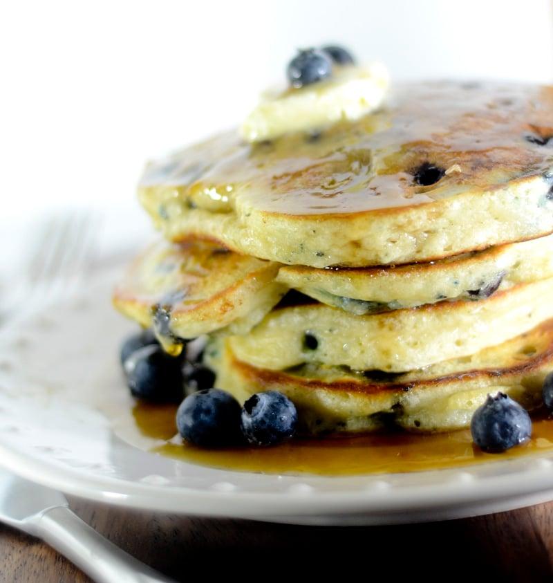 trisha yearwood lemon blueberry pancakes 022