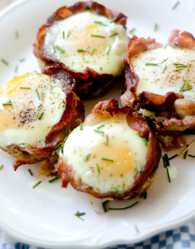 bacon breakfast cups – recipe diaries