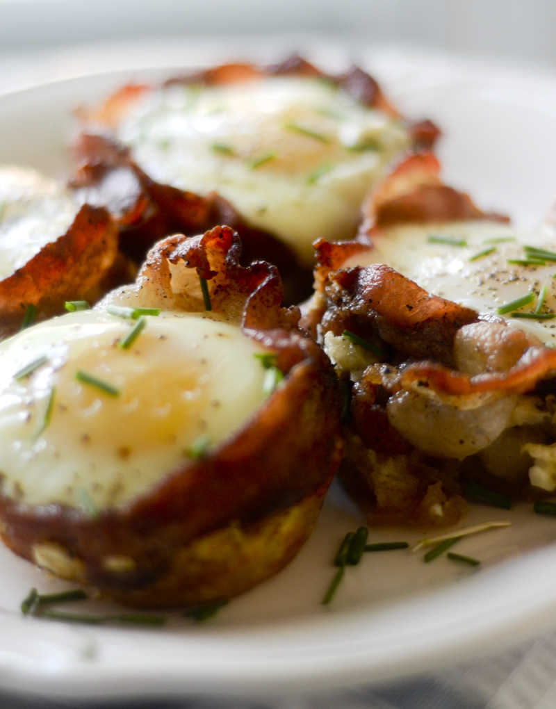 Bacon Breakfast Cups 014