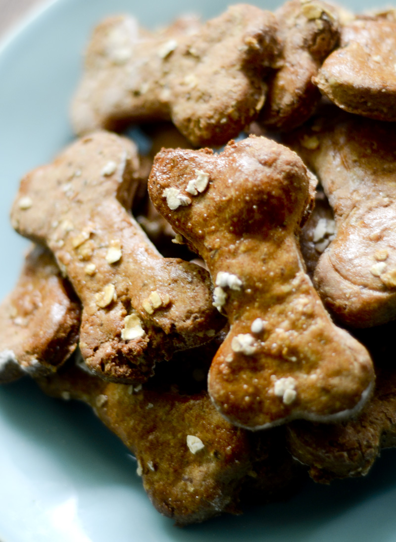 Peanut Butter Dog Treats 002