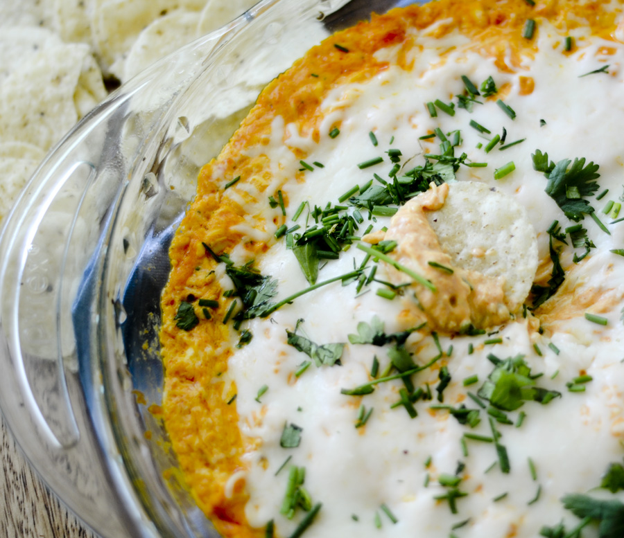 Skinny Buffalo Chicken Dip 006