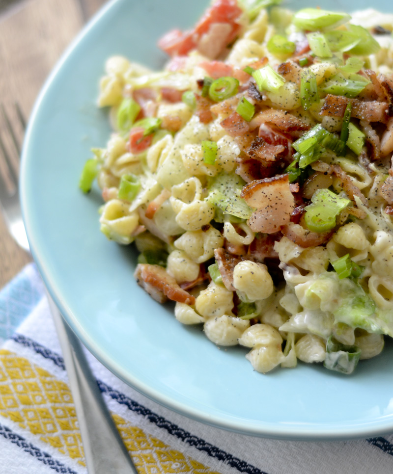 Weight Watcher's BLT Pasta Salad 014