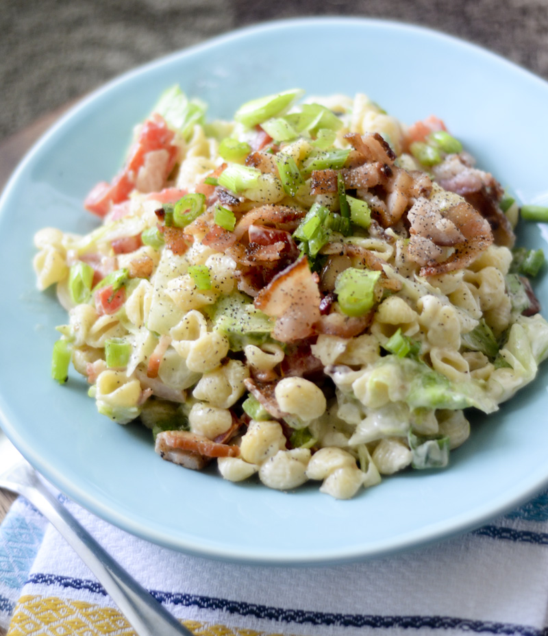 Weight Watcher's BLT Pasta Salad 018